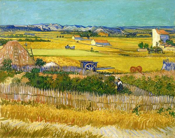 Post Modern Painting - Harvest - Digital Remastered Edition by Vincent van Gogh