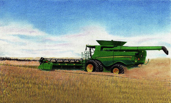 Wall Art - Mixed Media - Harvest Time by Lyle Brown