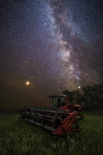 Wall Art - Photograph - Harvesting The Rift  by Aaron J Groen