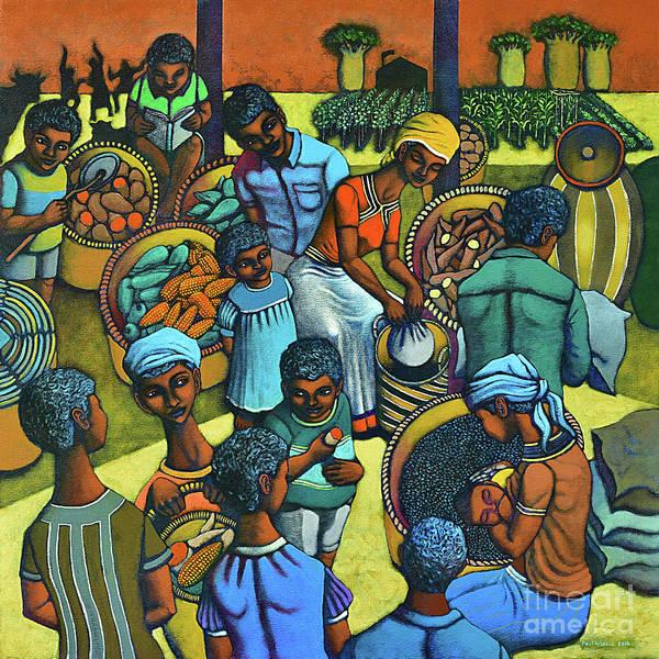 Wall Art - Painting - Harvestplus Africa by Paul Hilario