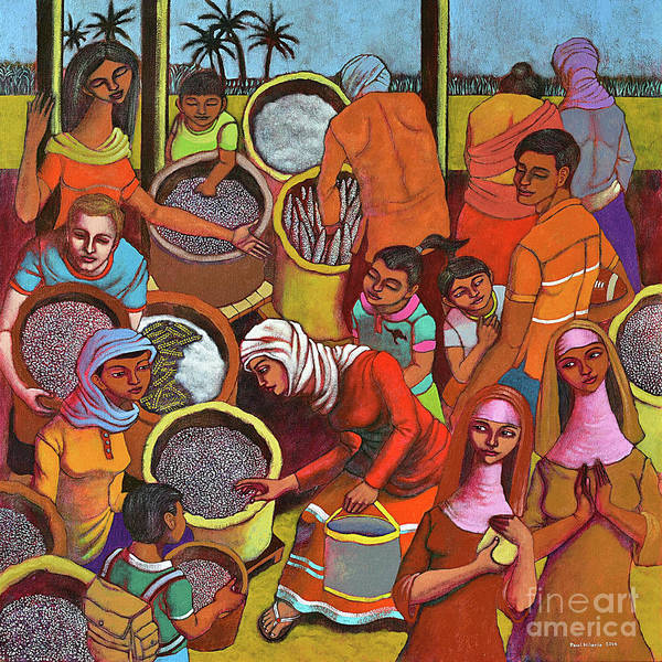 Bangladesh Painting - Harvestplus Asia by Paul Hilario
