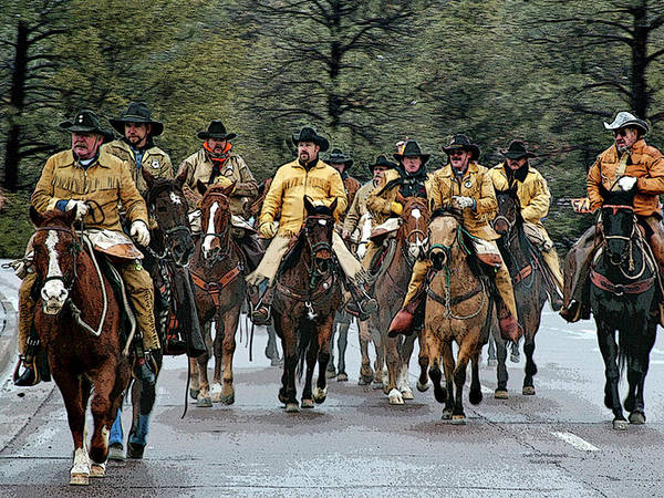 Photograph - Hashknife Riders by Matalyn Gardner