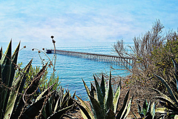 Photograph - Haskell Beach Pier by Glenn McCarthy Art and Photography