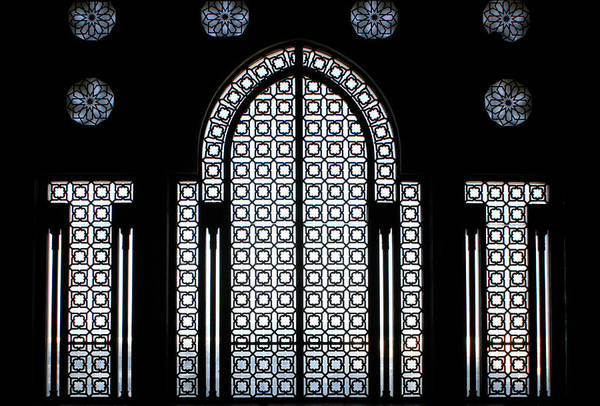 Natural Arch Photograph - Hassan II Mosque, Entrance - by Hisham Ibrahim