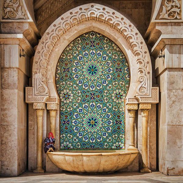 Photograph - Hassan Mosque Details - Morocco by Stuart Litoff