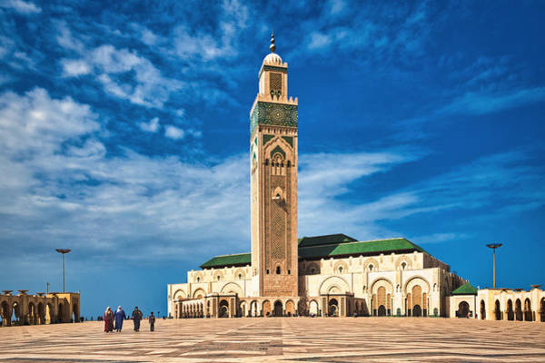 Photograph - Hassan Mosque - Morocco by Stuart Litoff
