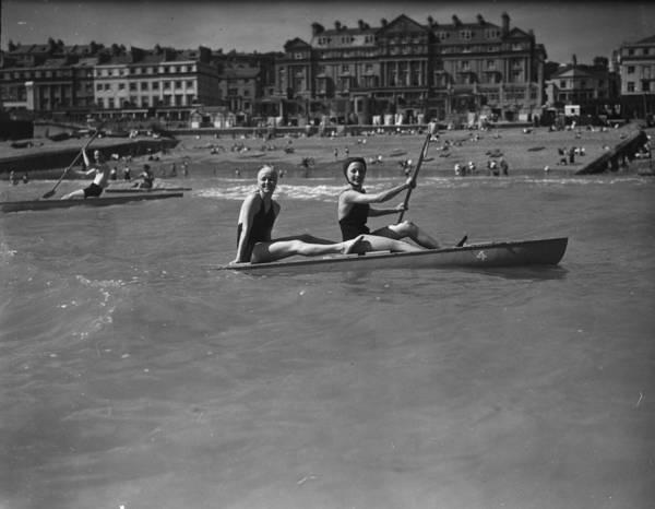 Canoe Photograph - Hastings Canoe by John F Stephenson