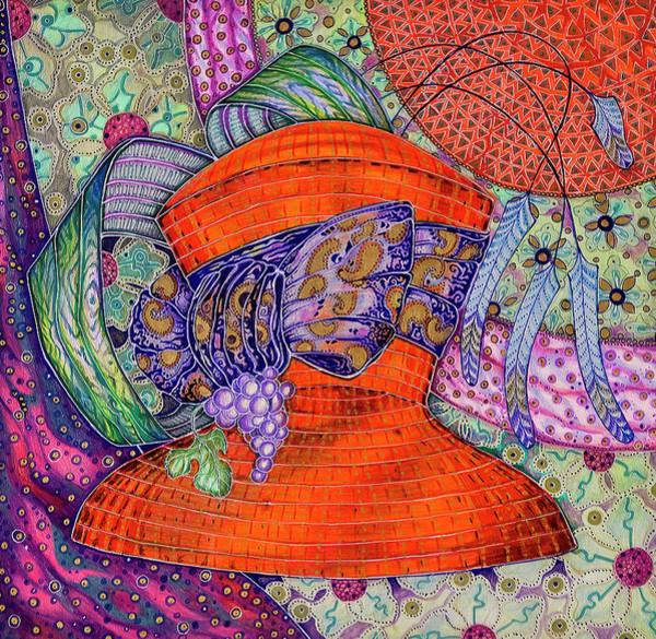 Painting - HAT by Ellie Perla