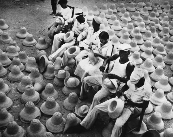 Straw Hat Photograph - Hat Factory by Kurt Severin