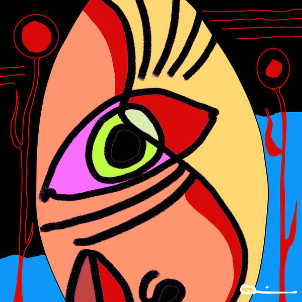 Digital Art - Hatred by Jeff Quiros