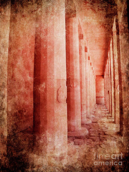 Wall Art - Photograph - Hatshepsut Temple by Jelena Jovanovic