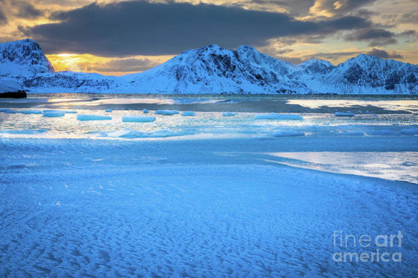Wall Art - Photograph - Haukland Ice by Inge Johnsson