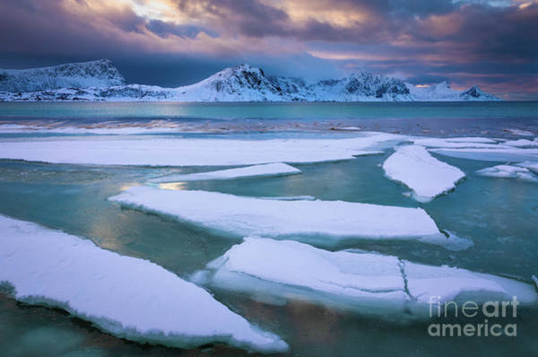 Wall Art - Photograph - Haukland Ice Sheets by Inge Johnsson
