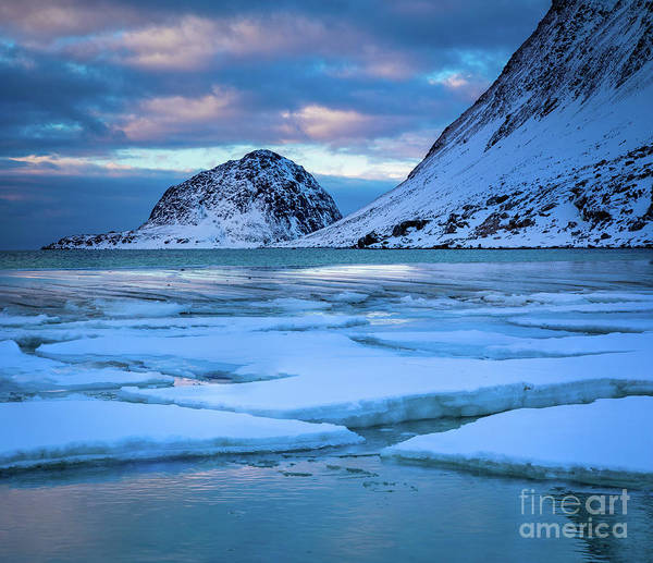 Wall Art - Photograph - Haukland   by Inge Johnsson