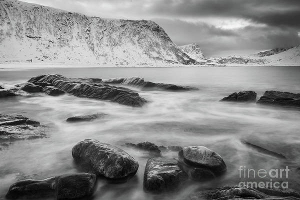 Wall Art - Photograph - Haukland Waves by Inge Johnsson