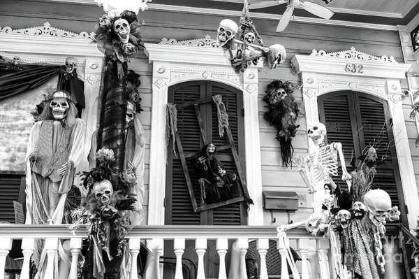 Wall Art - Photograph - Haunted House In New Orleans by John Rizzuto