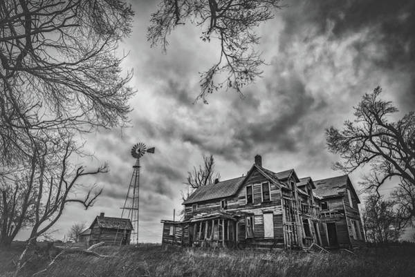 Wall Art - Photograph - Haunted Kansas by Darren White