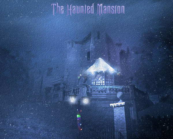 Wall Art - Photograph - Haunted Mansion Holiday  by Mark Andrew Thomas