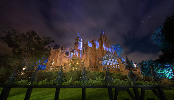 Wall Art - Photograph - Haunted Mansion Panorama by Mark Andrew Thomas