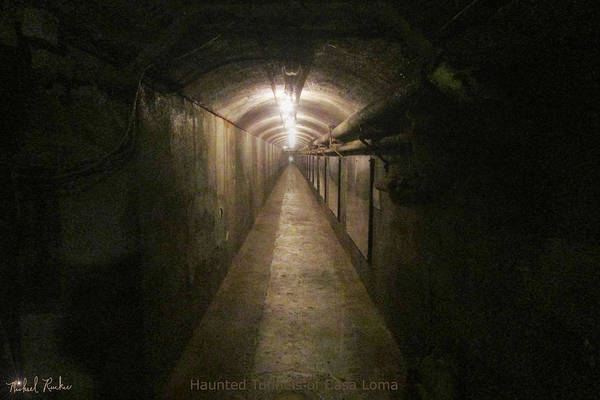 Wall Art - Photograph - Haunted Tunnels Of Casa Loma  by Michael Rucker