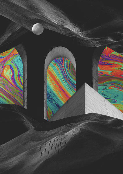 Wall Art - Digital Art - Haus Of Color by Fran Rodriguez