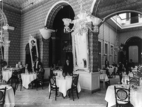Photograph - Havana Cafe, C1904 by Granger
