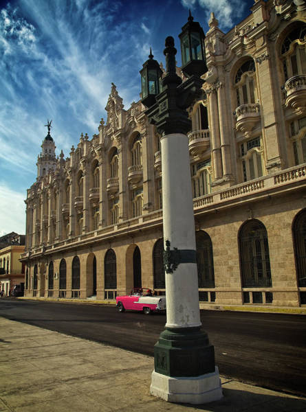 Photograph - Havana Centro Gallego by Levin Rodriguez
