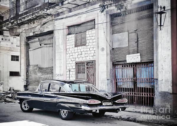 Wall Art - Photograph - Havana, Cuba - Classic Black Beauty by Chris Andruskiewicz