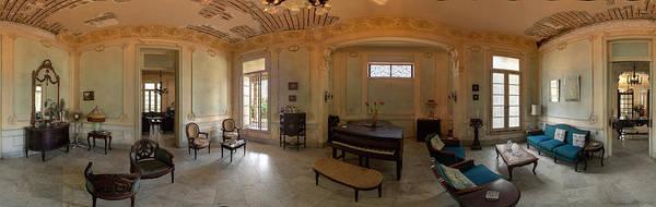 Photograph - Havana Mansion Pano by Tom Singleton