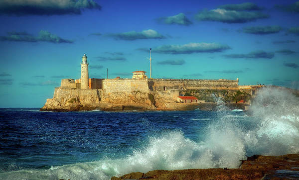 Wall Art - Photograph - Havana's Morro Castle by Mountain Dreams