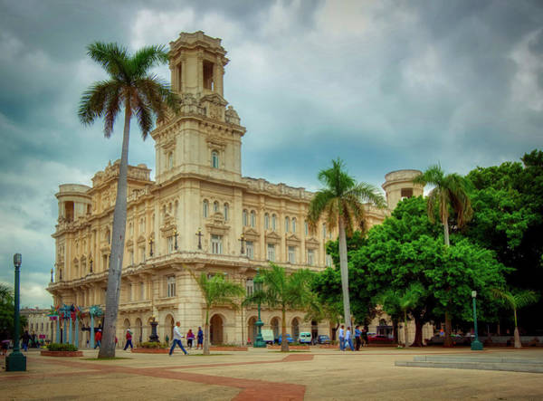 Wall Art - Photograph - Havana's Palacio Del Centro Asturiano by Mountain Dreams