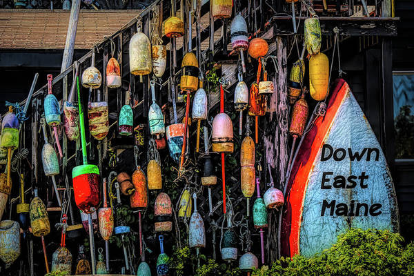 Photograph - Have A Buoy Nice Day by Jeff Folger