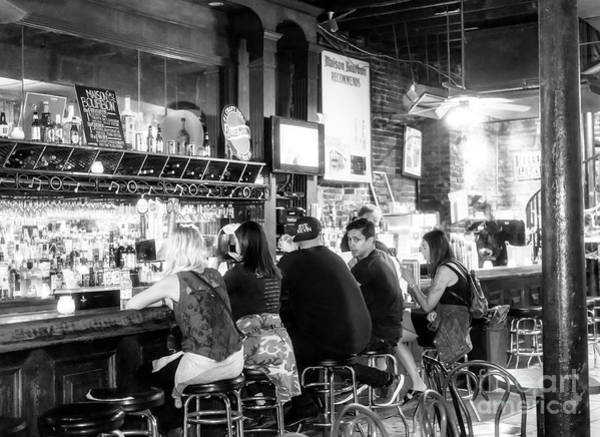 Photograph - Having Drinks In New Orleans by John Rizzuto