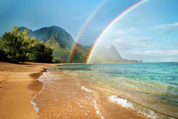 Hawaii Photograph - Hawaii Rainbow by M Swiet Productions