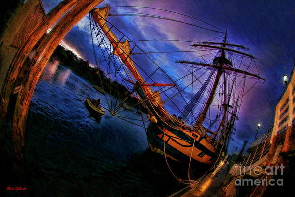 Photograph - Hawaiian Chieftain And Little Boat by Blake Richards