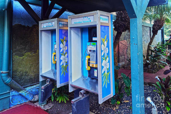 Wall Art - Photograph - Hawaiian Pay Phones by Catherine Sherman