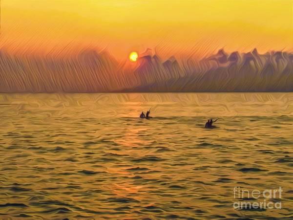 Wall Art - Photograph - Hawaiian Sunset by Christina Ford