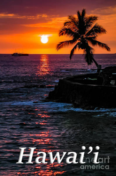 Photograph - Hawaiian Sunset by G Matthew Laughton