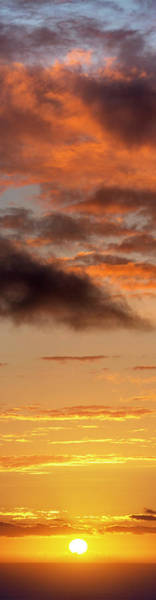 Wall Art - Photograph - Hawaiian Sunset Vertical Panoramic  by Christopher Johnson