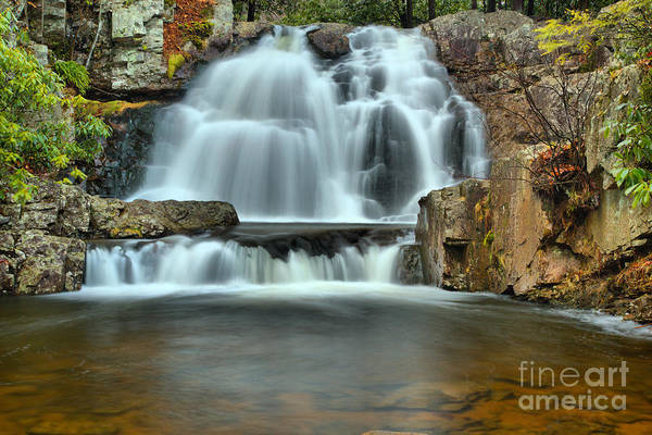 Photograph - Hawk Falls Pool by Adam Jewell