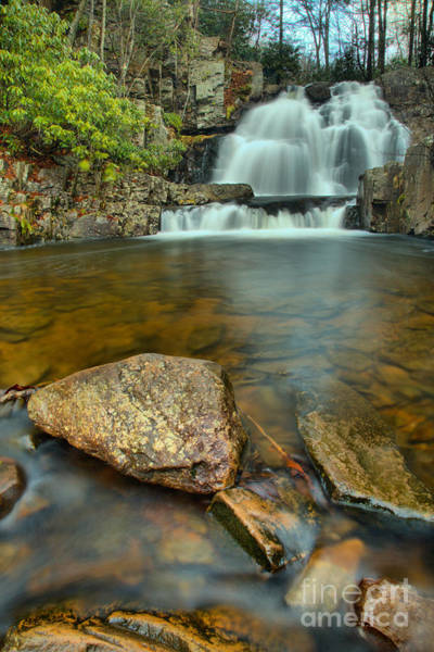 Photograph - Hawk Falls Portrait by Adam Jewell