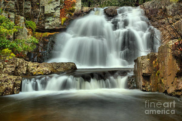 Photograph - Hawk Falls Winter View by Adam Jewell