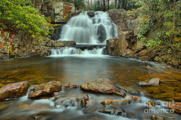 Photograph - Hawk Run Falls by Adam Jewell