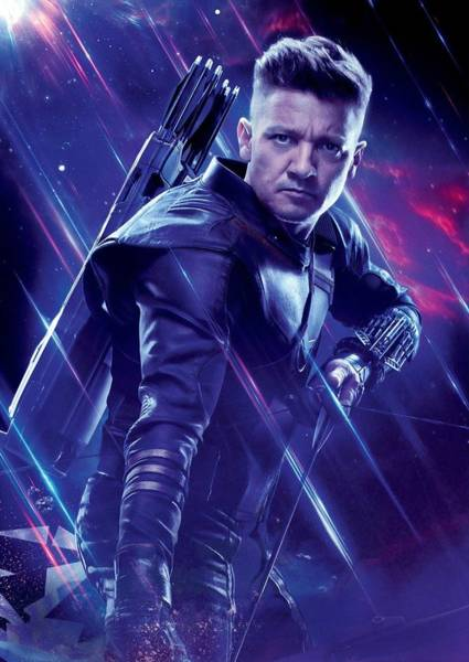 Wall Art - Digital Art - Hawkeye Ronin - Avengers by Geek N Rock