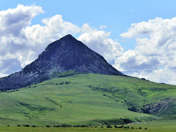 Photograph - Hay Stack Butte Geological Feature 2 by Kae Cheatham