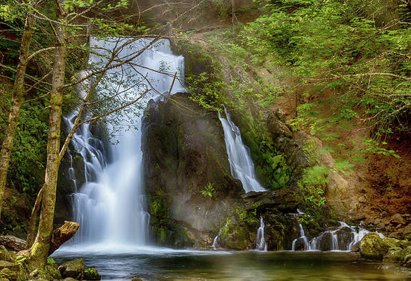 Photograph - Hazel Creek Falls #1 by Jack Peterson