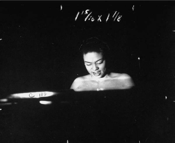 1940 Photograph - Hazel Scott by Eliot Elisofon