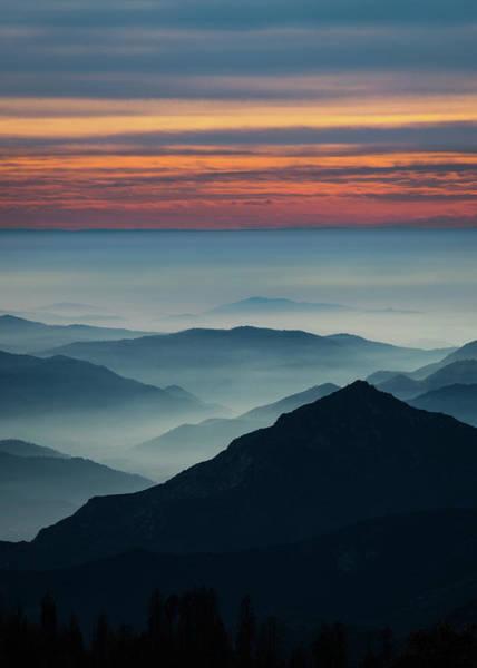 Photograph - Hazy Sierra Foothills by Hayata Takeshita