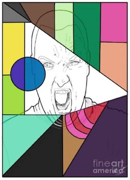 Wall Art - Digital Art - He Say by William Bryant