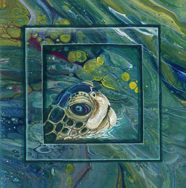 Painting - Head Above Water by Darice Machel McGuire